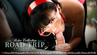 The Retro Collection - Road Trip Episode 2 - Gina Devine & Thomas Lee - SexArt