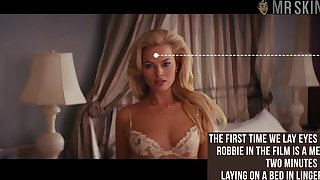 Gorgeous Margot Robbie fully nude scene compilation