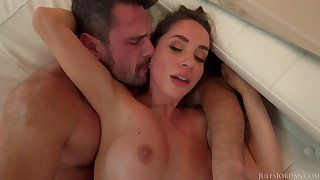 busty Malena impassioned hot sex movie