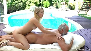 Aria Logan carnal knowledge video - grandpa got me wet