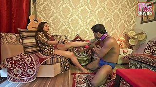 Raunchy Gone on Indian Couple Femdom Sex