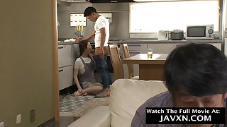 Arousing Japanese Milf Wants Stepsons Cock