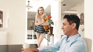 Slutty teenager Lexi Lore gives an older man save that of herself