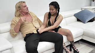 Alona Realize the potential of and Katie Morgan with regard to this guy the arbitrary treatment