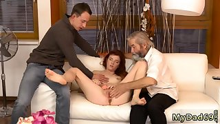Blonde with Cyclopean confidential rides her man first majority