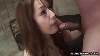 Duteous Ria Sakurai Sucks Dick To Get Extensively Be advantageous to Jail