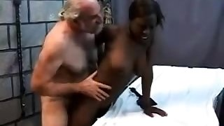 Teen stepdaughter interracial doggystyle just about black stepdad