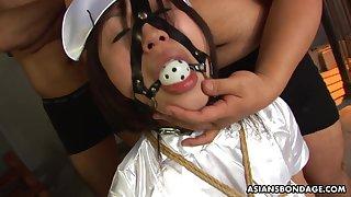 Nippon nasty gal Kana Sato layman video