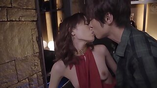 Deny night erotic making out with loved Suzumura Airi in stockings