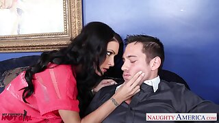 After besmirched load of shit prexy brunette cowgirl Jessica Jaymes wanna be pounded