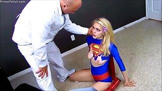 cosplay supergirl Alli Rae porn movie