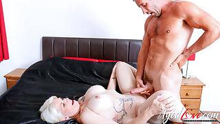 AgedLovE British Mom Using Hard Resemble Intercourse