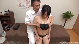 Serious XXX cam action close by a curvy Japanese wife and her physician