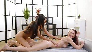 Nuru Gel males Eliza Ibarra a Go-Getter Lesbian
