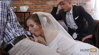 Pretty china makes her groom cuckold on their wedding night