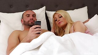 Blonde women share partners be advisable for insightful foursome