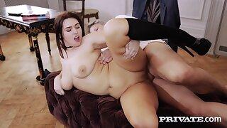 Busty and Curvy SchoolGirl Effie Diaz Pussy Fucked By Slanderous Instructor - Big tits