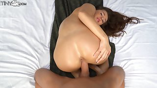 Intriguing scenes of POV sex with a very naughty comprehensive
