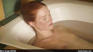 Fleur Geffrier nude frontal and sexy movie scenes