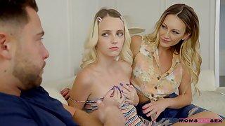 Kate Bloom and Adira Allure threeway porn