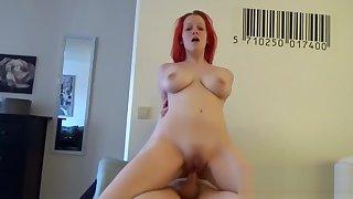Morning sexual congress with my redhead girlfriend slattern