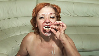 74 time old toothless mom fucked